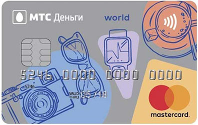 Карта МТС-Деньги Weekend
