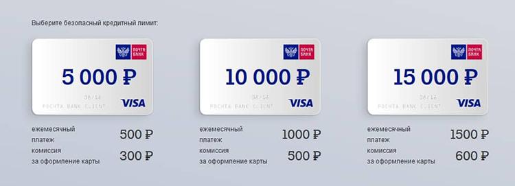 """Основные плюсы карты """"Почтовый экспресс"""""""